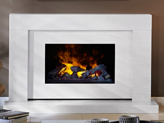 The Bali opti-myst electric fire