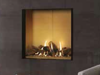 Developed for those who want the visual impact and heat of a blazing log fire with all the ease of gas, the Riva2 800 & 1050 Edge offers high efficiency in a frameless design. With advanced dual burners to give you complete control, you can create the perfect flame visuals to suit your mood.