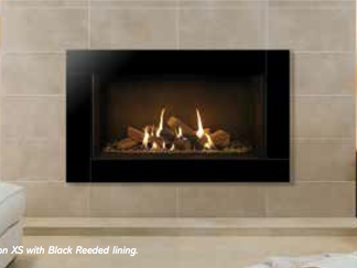 The Icon XS is a truly awe-inspiring frame and the perfect complement to the large format Riva2 800 & 1050 fires. Iconic in both name and nature, this luxuriant frame is designed to make an impact. The resplendent, highly reflective Black Glass and clean geometric lines offers unrivalled flair and elegance blending seamlessly with your own decorative tastes.