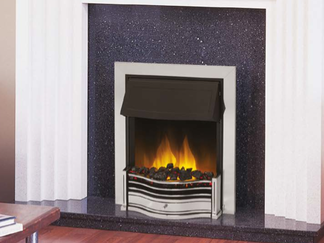 D17 Electric Fire available in black, brass or antique brass - Prices from £434