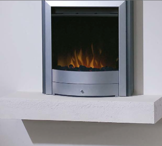 D46 Electric Fire Available in black or silver