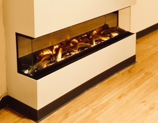 Evonic e1500gf 1500mm wide, needs to be built into a false chimney breast from £2298inc
