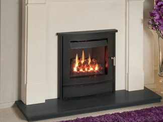 Nu Flame Vitesse with standen front - Please refer to Efficiency Labels for efficiency rating.