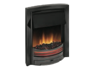 D1 Electric Fire available in black, brass or antique brass - Prices from £434