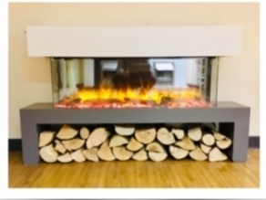 Valor Masquerade Slimline Electric Fire - On display in our showroom