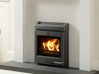 "Yeomans CL Milner - Prices from £1,399 inc CL Milner inset air wash CE Clean Burn smoke control multi fuel* yes efficiency up to 76% smoke control area approved Yes clean burn yes airwash system yes optional boiler No handles stainless steel handle with self locking function flue top flue exit only - 152mm (6"")"