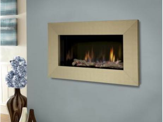 The Kinder Atina HE's perfect petite proportions and fabulous black reflective interior combined with a spellbinding flame makes this little hole in the wall gas fire a magnificant centre-piece for smaller modern living areas. The Atina HE high efficiency hole in the wall gas fire features a maximum heat output of 3.5kW (77% efficiency) and is controlled by a fully sequential remote control system with thermostatic operation so you can always maintain a comfortable room temperture that suits you. This fire can be installed as a trimless appliance or with a choice of Wide fascia in antique brass or polished steel, or Glass fascia in silver or champagne.   Kinder Atina HE - High Efficiency Hole in the Wall Gas Fire Specification:  Safety Flame Su