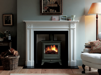 The Beaumont 8kw with its classical detailing and handsome appearance, the Beaumont is an elegant addition to the decorative scheme of any room - Prices from £1,860 inc