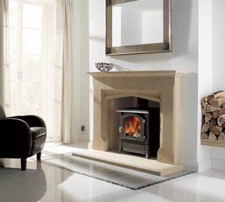 Portchester  The moulding and graceful lines of our elegant English Tudor style surround  combines smooth detailing to give a refined and timeless ambiance to any room.  Prices from £2,409 inc VAT