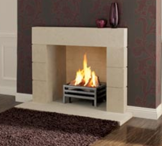Priory  Inspired by the Roman technique of rustification with a strong feel of Renaissance architecture the pure minimalism of this surround will suit any modern living space. Prices from £1,420 inc VAT