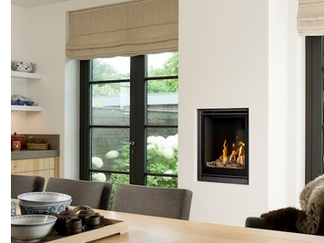 Bell Fire Unica 2 55 Gas Fire - Energy Efficiency Rating D - Please refer to Efficiency Labels