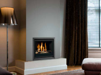 Unica-2 50 Gas Fire - Prices from £2,184 inc - Energy Efficiency Rating D - Please refer to Efficiency Labels