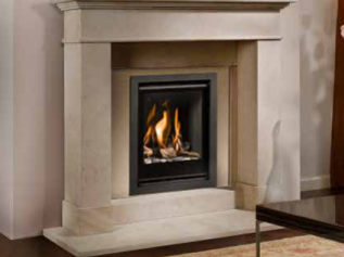 Bell Fire Unica 40 Gas Fire - Energy Efficiency Rating C - Please refer to Efficiency Labels