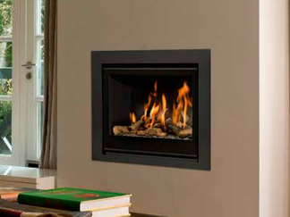 Unica-2 70 Gas Fire - Energy Efficiency Rating D - Please refer to Efficiency Labels - On display in our showroom