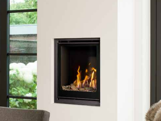 Unica-2 55 Gas Fire - Energy Efficiency Rate D - Please refer to Efficiency Labels