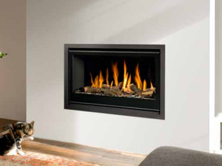 Unica-2 90 Gas Fire - Energy Efficiency Rating D - Please refer to Efficiency Labels