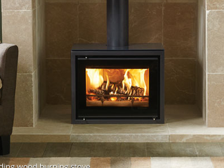 500 Freestanding Woodburner - Stovax Riva 500 freestanding, 5kw woodburner, clean burn , air wash max log length 250mm . stove size 607mm w x 479mm h x 383mm d - Prices from £1,845 inc