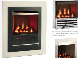 The Vitesse Balance Flue - Prices from £1,075 inc