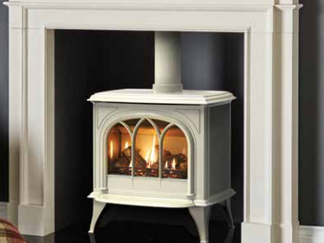Gazco Huntingdon 40 Gas Stove - Prices from £1,645 inc VAT, Balanced Flue £1,745 inc VAT