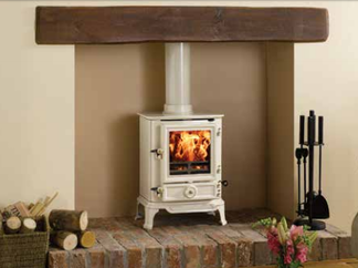 Brunel 1A Multi-Fuel Stove - Prices from £925 inc