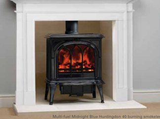 Huntingdon 40 Multi -Fuel Stove - Prices from £1,949 inc