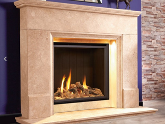 Collection Distinction - The Distinction Illumia Gas Fire Suite - The Collection by Michael Miller High Efficiency - Prices from £3,399 inc