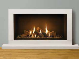 Riva2 800 Gas Fire - balanced flue only - Prices from £2,849 inc shown in Sorrento frame - Prices from £749 inc