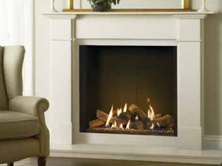 Contemporary fireplaces hampshire winchester southampton for Modern gas fireplace price