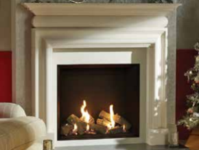 Riva 2 800 -  Prices from £2,849 inc shown with Cavendish Bolection Mantel - Prices from £1,749 inc