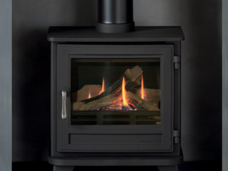 Chesney Salisbury Gas Stove, conventional flue only - Prices from £1,482 inc