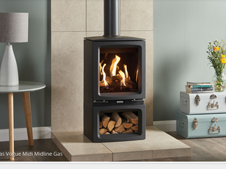 Gazco Vogue Midline Gas Stove - On display in our showroom
